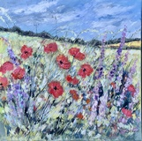 Poppies on the Breeze