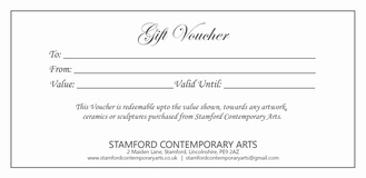 Gift Vouchers for Art Work £100.00